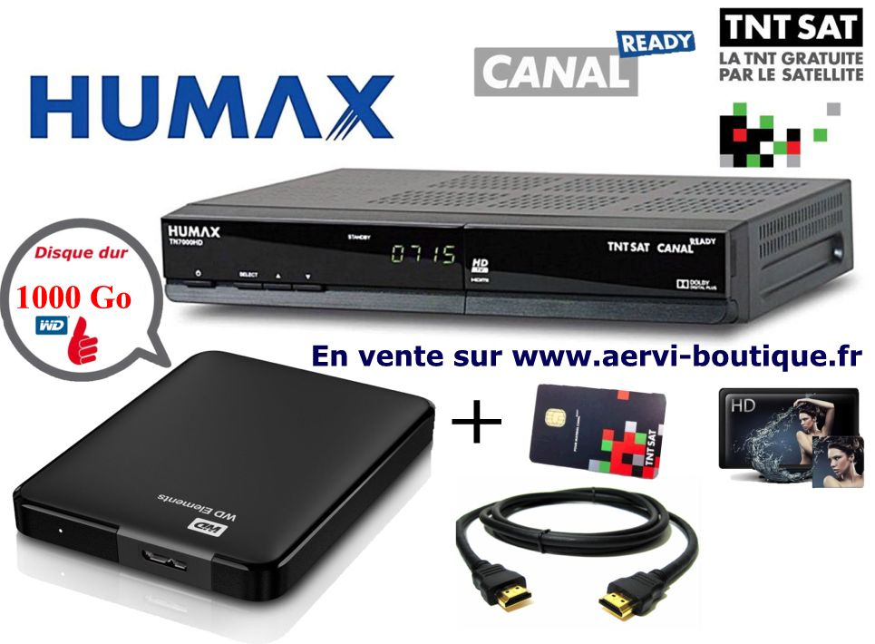 humax tn5000hd r cepteur tnt satellite hd tntsat canal ready. Black Bedroom Furniture Sets. Home Design Ideas