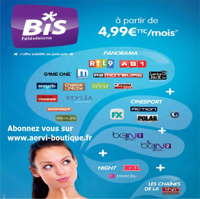 Bis TV AERVI Boutique